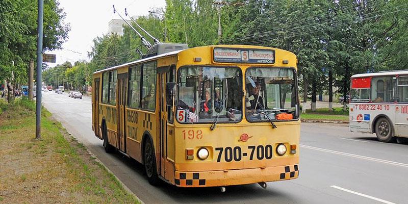 троллейбусы на рейсе без ОСАГО